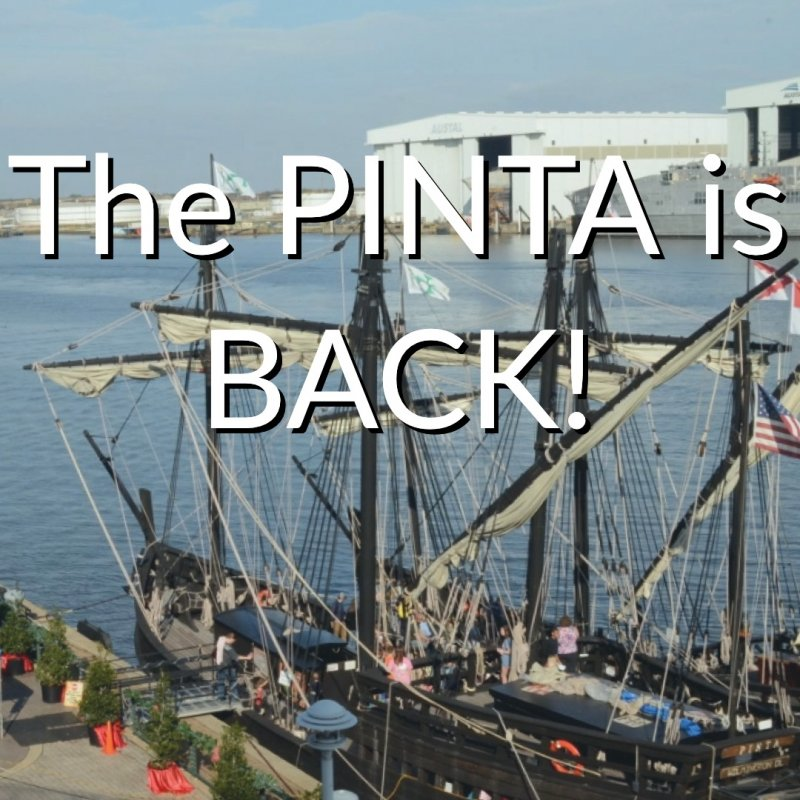 The Pinta is Back at GulfQuest
