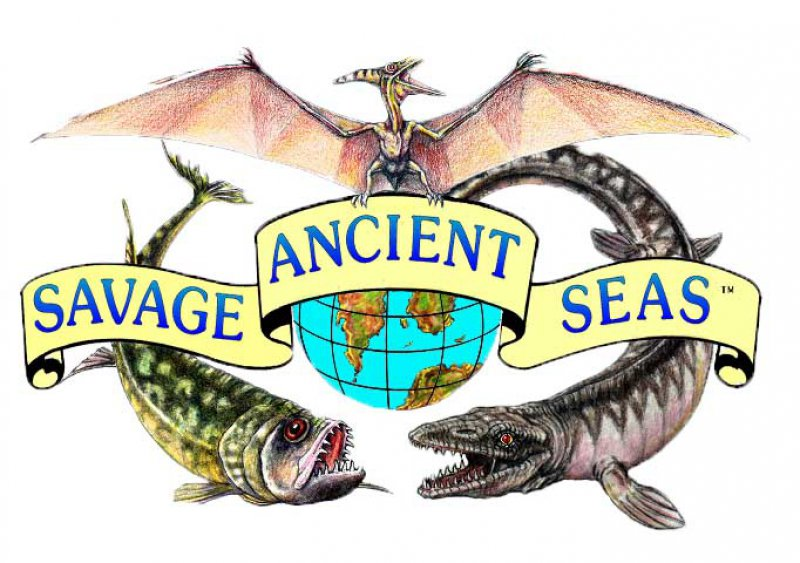 SAVAGE ANCIENT SEAS! Last day open to the public is Saturday, April 21st, 2018